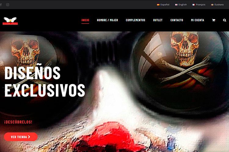 Página web del Mono Pensador