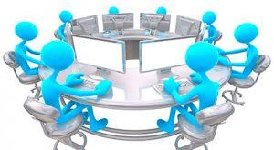 Representación de grupo de trabajo en red